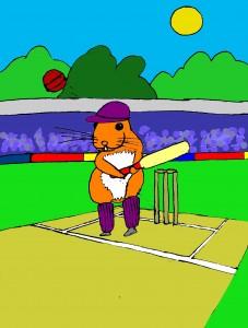 Hamster Cricket