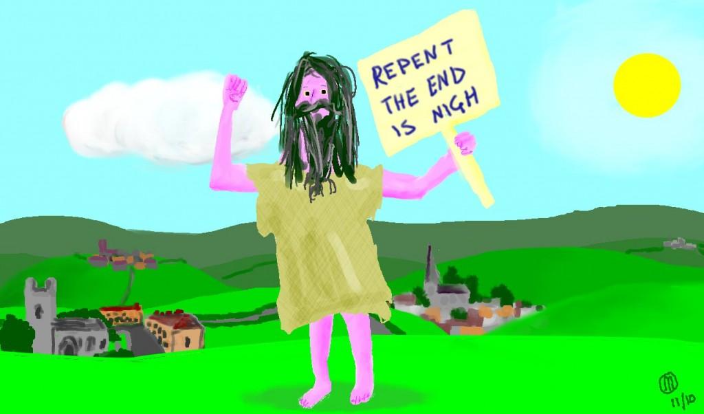 prophet of doom in the british countryside