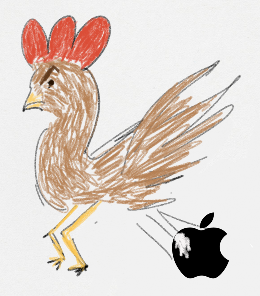 Happy year of the cock to Apple.